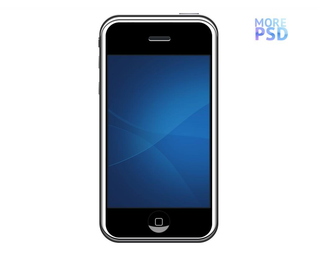 скачать psd iphone