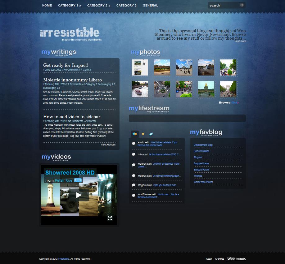 free wordpress theme бесплатная премиум тема вордпресс