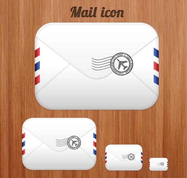 конверт, письмо, иконка, psd, png, скачать, без регистрации