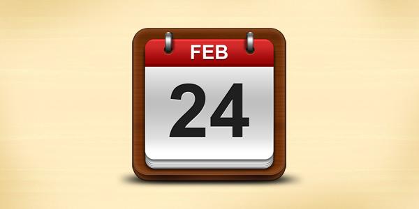 иконка календаря psd исходник фотошоп