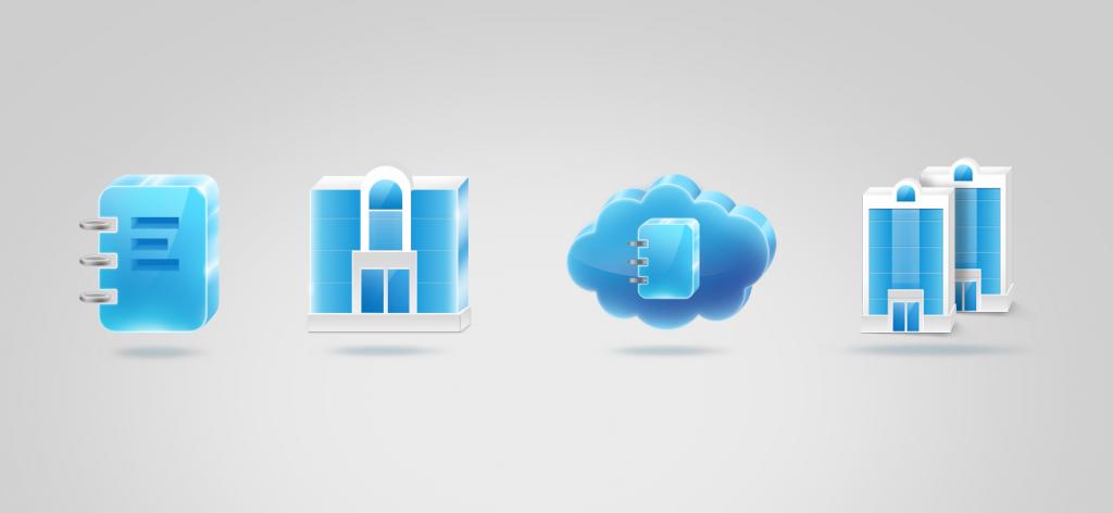 psd,icons,accounting,иконки,бухгалтерия, книга,домик, офис, небоскреб, дневник, скачать,синие, блестящие, стекло, облако, справочник, glass