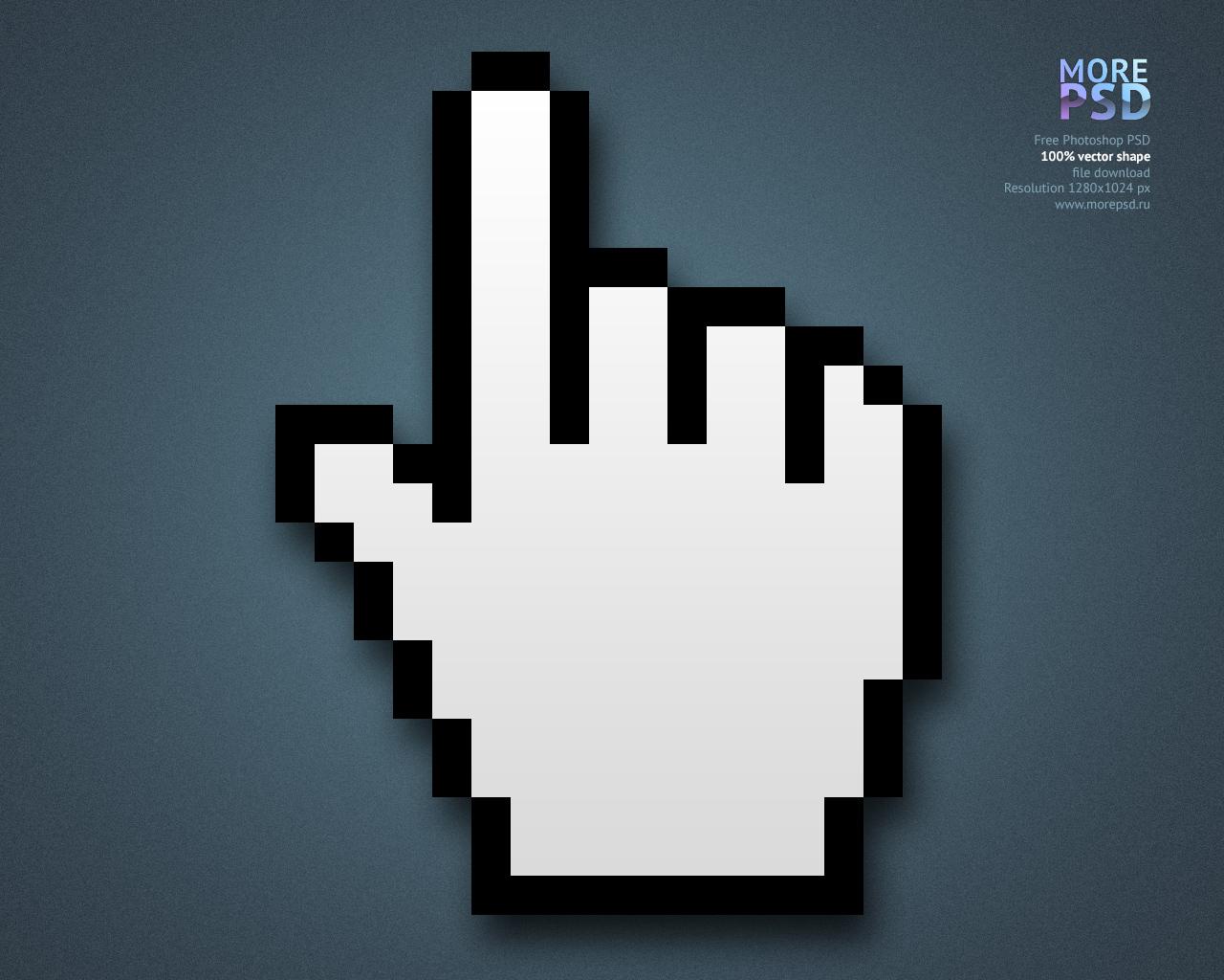 курсор, рука, скачать, вектор, шейп, psd, фотошоп, pointer, cursor, vector, shape