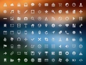16 пиксельные иконки бесплатно глифы вектор psd