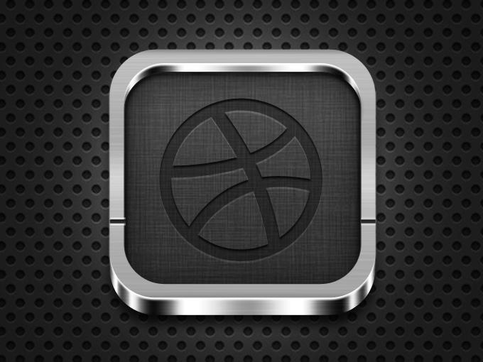 исходник iOs иконка psd шаблон как рисовать скачать dribbble