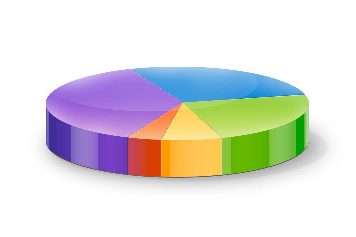 круговая диаграмма как сделать исходник psd photoshop