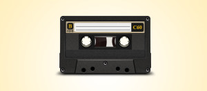 аудио кассета psd хипстер hipsta cassette audio