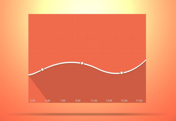 flat graph график, плоскийб длинные тени psd скачать download