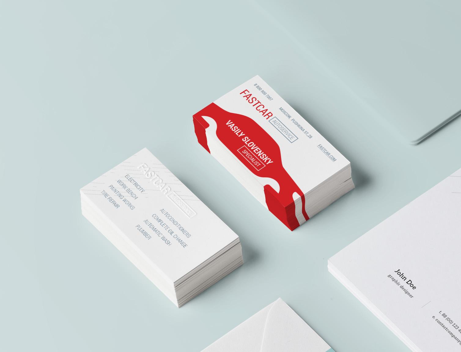 визитки образец в word