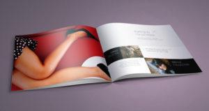 шаблон каталога, журнала, фэшн, бесплатный
