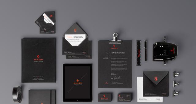 branding psd template free