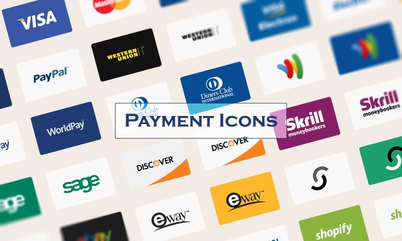 иконки платежных система для интернет-магазинов скачать psd