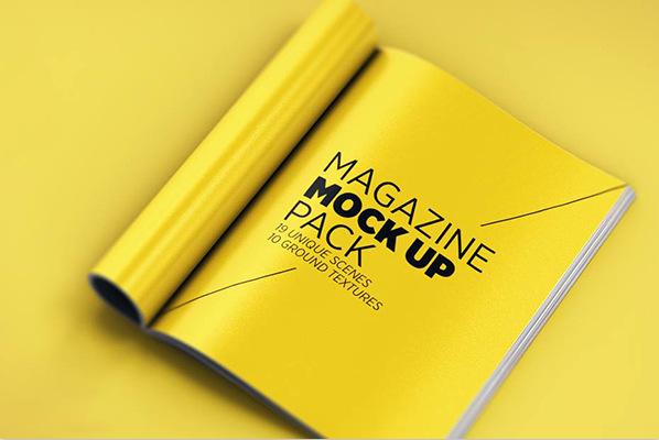 каталог журнал бесплатный шаблон скачать psd мокап