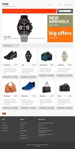 интернет магазин шаблон для wordpress скачать тема бесплатная theme woocommerce