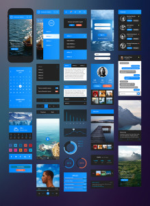 ui kit iPhone 6 download скачать free