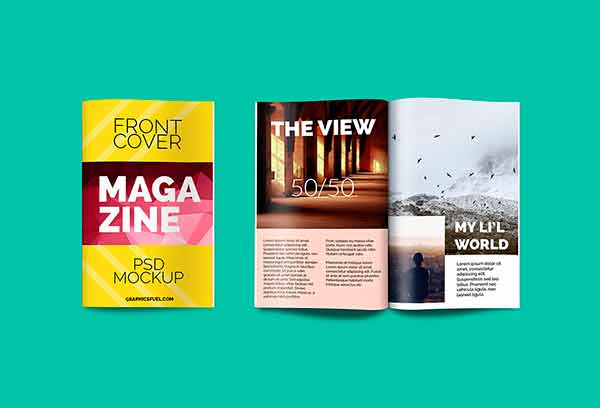 шаблон журнала скачать макет обложка дизайн