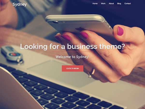 Шаблон Wordpress сайта, тема, карусель, слайдер, во весь экран, скачать