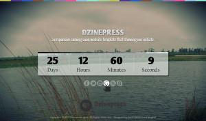 Заглушка на сайт об открытии с счетчиком времени скачать