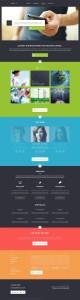 Шаблон сайта красивый портфолио пример скачать исходник