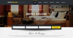 Лендинг хостела, отеля, шаблон, бесплатныйскачать