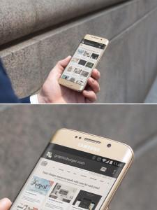 мокап андроид етелефона самсунг скачать psd