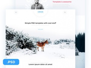 Зимняя природа картинки psd для сайта