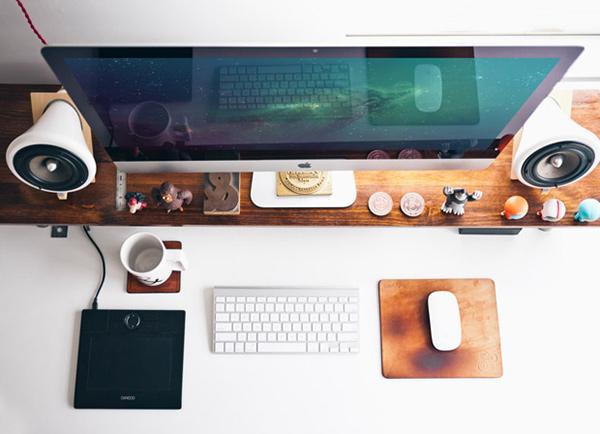 крутой суперреалистичный мокап iMac psd