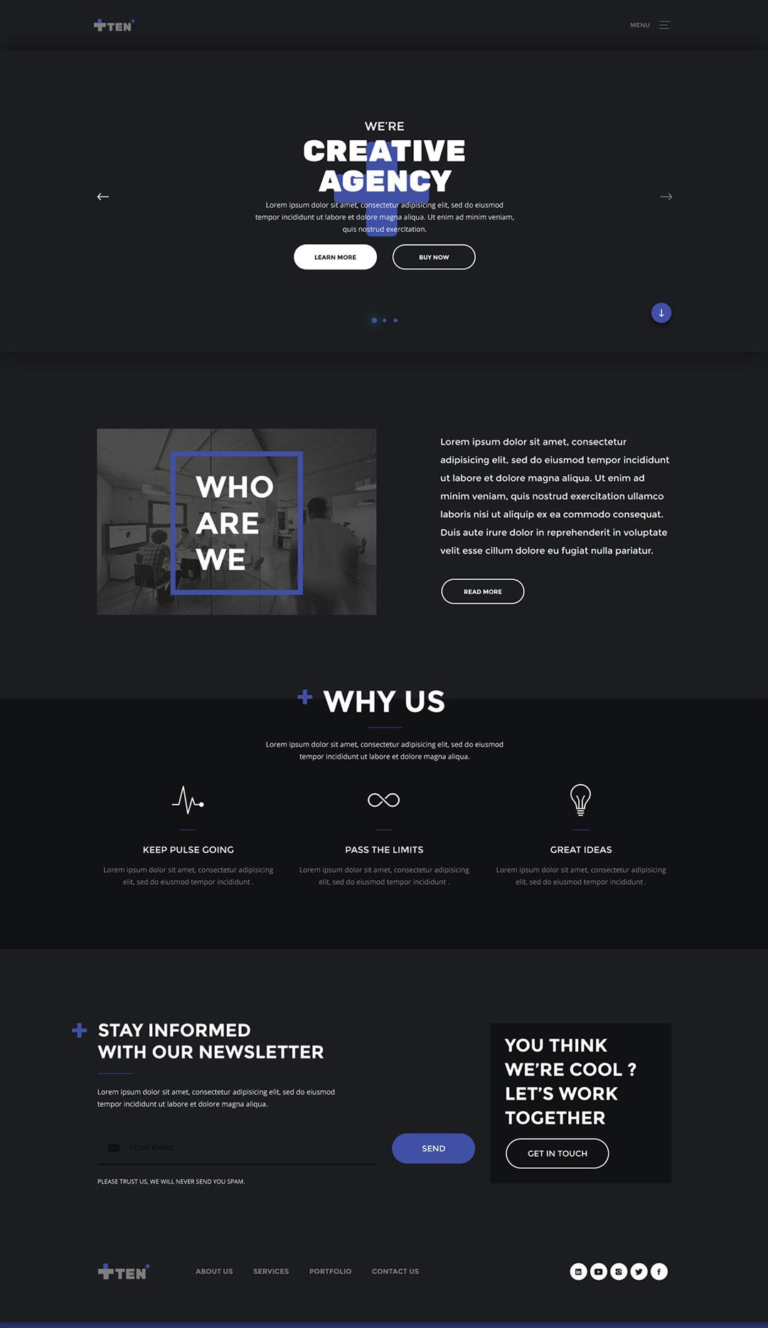 Дизайн сайта в photoshop по шагам