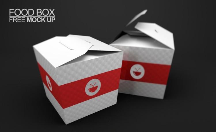 упаковка для еды ланчбокс вок psd