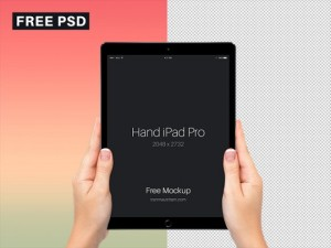 ipad pro в руках in hands free psd mockup мокап