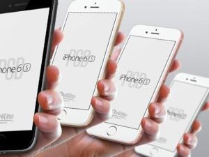 iphone6s мокап psd