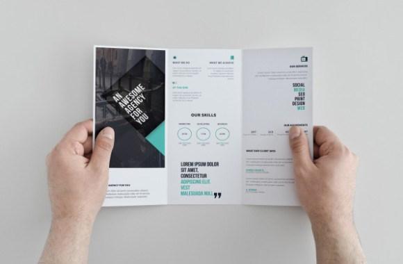 маркетинг-кит шаблон, брошюра, о компании, бесплатно
