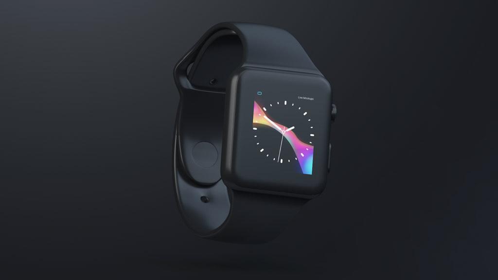 Black Apple mockups free мокап мак макбук эппл