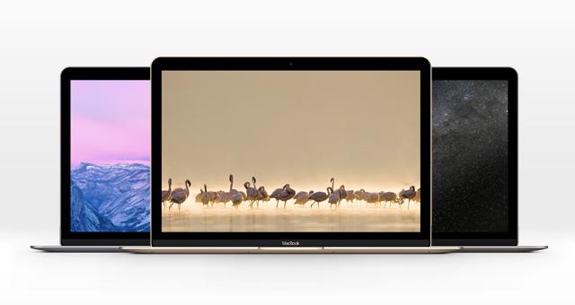 new macbook 2016 мокап psd