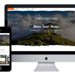 Шаблон сайта про путешествия, горы, туризм