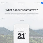 лэндинг шаблон бесплатный стартап сервис приложение скачать