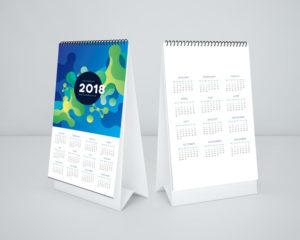 шаблон календаря 2018 скачать бесплатно psd фотошоп вектор