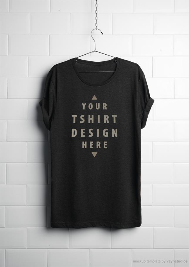 мокап футболки дизайн макет psd