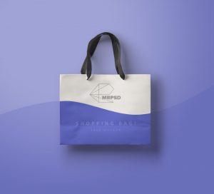пакет мокап бесплатный free mockup bag shopping
