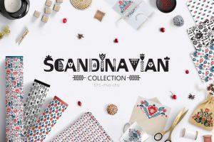 скандинавские узоры графика иллюстрации типографика скачать фоны