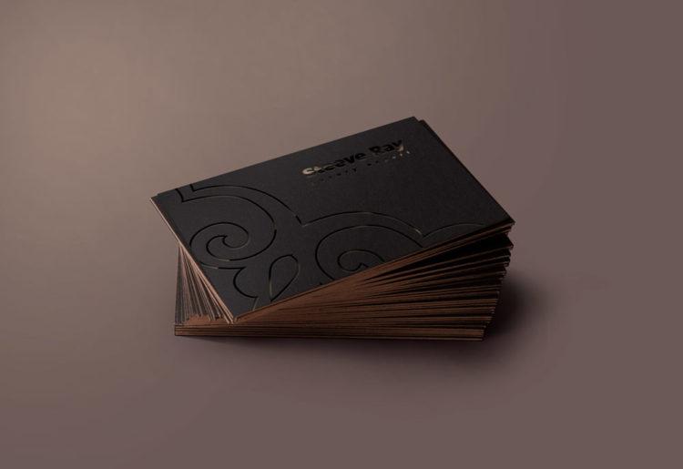 шаблон визитки стандартные размеры для печати бесплатно люксовая вип vip черная