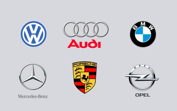 логотипы авто немецких марок скачать png psd