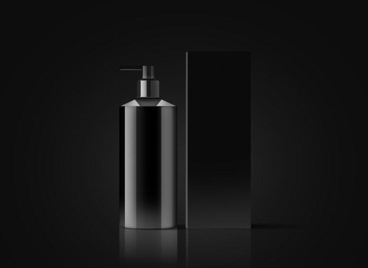 мокап упаковки жидкого мыла косметики бесплатный psd
