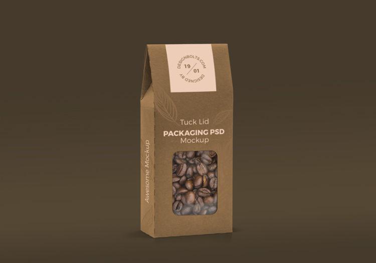 мокап упаковки чай кофе бесплатный