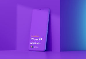 мокап iPhone XS скачать бесплатно free mockup
