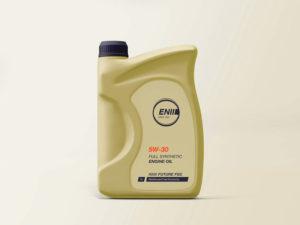 мокап упаковки моторное масло psd