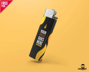 мокап зажигалки mockup mock up бесплатно