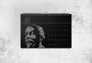 шаблон 2020 года календарь бесплатно psd