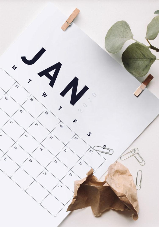 мокап календаря бесплатный скачать mockup calendar free