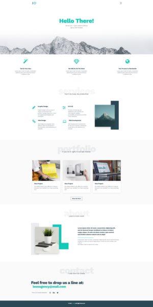 готовый шаблон сайта скачать бесплатно html
