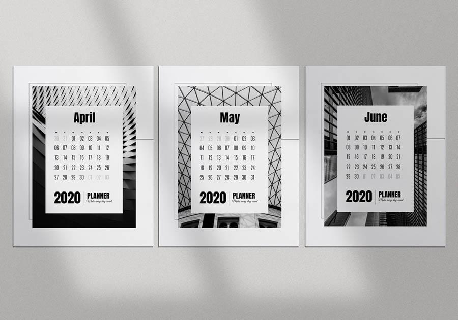 календарь шаблон
